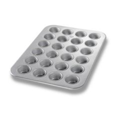 Chicago Metallic 45245 24 Cup Mini-Muffin Pan With AMERICOAT Plus®
