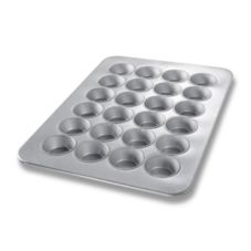 Chicago Metallic 45645 Glazed Aluminized Steel 24 Cup Large Muffin Pan