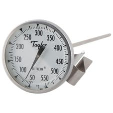 "Taylor® Precision Candy / Deep Fry Thermometer w/ 12"" Stem"