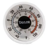Taylor® Precision Indoor / Outdoor Dial Thermometer