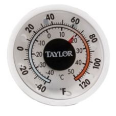Taylor Precision 5380N Indoor / Outdoor -40-120°F Dial Thermometer
