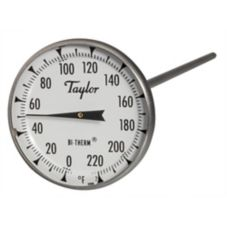 Taylor Precision 6215J Bi-Therm® 0 - 200°F Dial Thermometer