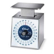 Edlund SR-25 Premier Rotating Dial Mechanical 25 lb Portion Scale