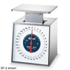 Edlund SF-5 Premier Series Fixed Dial Mech. 5 lb Portion Control Scale