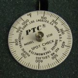 Pacific Transducer Corp. 573F Spot Check 50-1000°F Thermometer