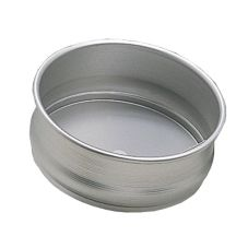 "American Metalcraft DRPE800 Deluxe Anodized Aluminum 8"" Dough Pan"