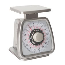 Taylor® S/S 2 lb Rotating Dial Portion Scale