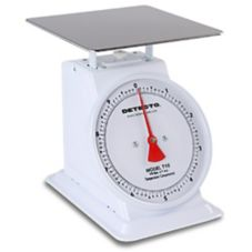 Detecto® Large Top Loading 10 Lb. Fixed Dial Scale