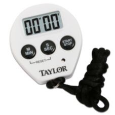 Taylor Precision 5816N LCD Display Chef Timer with Recall Feature