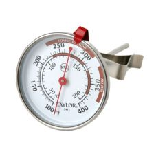 Taylor Precision 5911N 100 - 400°F Candy / Deep Fry Thermometer