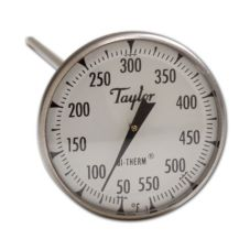 Taylor Precision 6220J Bi-Therm® 0 - 500°F Dial Thermometer