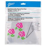 Ateco 4695 Soft Plastic Disposable Pastry Decorating Bag - 100 / PK