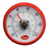 "Cooper Atkins 1.5"" -20-120F Cooler Thermometer w/ Magnetic Back"