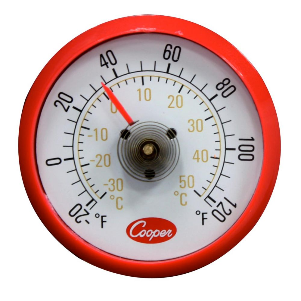 "Cooper-Atkins Cooper Atkins 1.5"" -20-120F Cooler Thermometer w/ Magnetic Back at Sears.com"