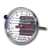 Taylor Precision 5990N 5* Commercial 120 - 150°F Meat Thermometer