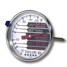 Taylor Precision 5990N Commercial 120 - 150°F Meat Thermometer