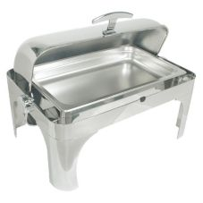 Adcraft® LI-8 S/S Long Island Oblong 8 Qt. Chafer