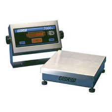 "Doran Scales 7025XL 10"" 25 lb. Capacity Digital Bench Scale"