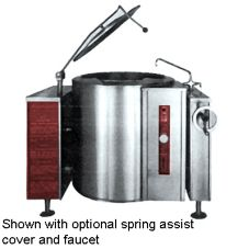 Blodgett 40G-KLT 40 Gal Gas Tri-Leg Kettle with Manual Tilt Mechanism