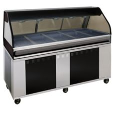 Alto-Shaam EU2SYS-72/PL-C Hot Deli Cabinet with Left Side Self-Service