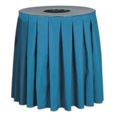 Buffet Enhancement 1BCTCS44SETBDFG Round 44 Gal Can Topper with Skirt