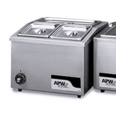 APW Wyott W-6 Electric 2/3 Size Pan Countertop Food Warmer
