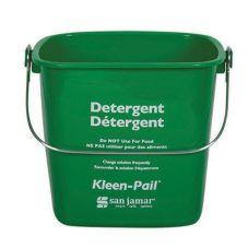San Jamar® KP97GN Green 3-Quart Kleen-Pail®