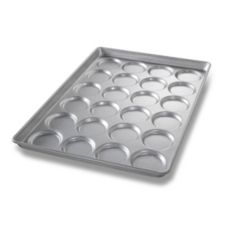 Chicago Metallic Bakeware ePan Aluminum Hamburger Bun Pan for 24 Buns