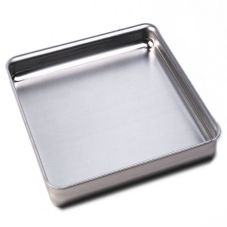 "American Metalcraft SQ1220 Square 12 x 12 x 2"" Aluminum Pan"