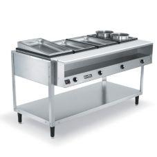 Vollrath 38004 ServeWell®  4-Well S/S 61 x 32 x 34 Hot Food Table