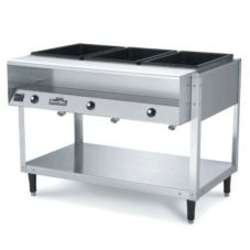 Vollrath 38002 ServeWell® 2-Well S/S 32 x 32 x34 Hot Food Table