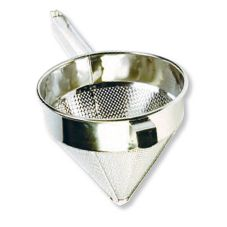 "S/S Coarse 8"" China Cap Strainer"