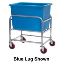 Win-Holt® 30-6-A/WH Aluminum Base 6-Bushel Bulk Mover w/ White Tub