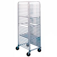 Win-Holt® AL-1830B-KD Aluminum Knock Down 30-Bun Pan Rack