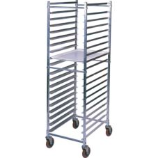 Win-Holt® ADE1820B/KDA Aluminum End-Loading 20-Pan Bun Rack