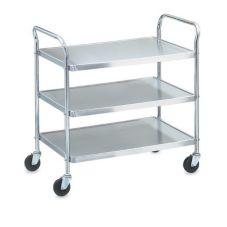 Vollrath® 97105 Money Saver Knockdown S/S 3-Shelf Cart