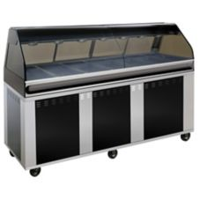 Alto-Shaam EU2SYS-96/PR-C Hot Deli Cabinet with Right Side Self-Serve