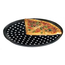 "American Metalcraft Hard Coated Perforated CAR 17"" Pan Pizza Pan"
