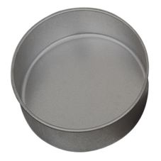 "Allied Metal CPH9X3 9"" x 3"" Aluminum Cake Pan"