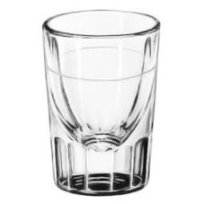 Libbey® 5135/S0617 Lined Fluted 1.25 oz Whiskey Glass - 48 /CS