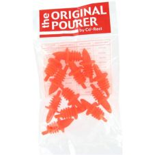 Co-Rect OP0305/301R Poly Fluorescent Red Original Free Pourer - Dozen