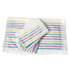 Chef Revival® 705MSK Multi-Stripe Terry Cloth Towel - Dozen