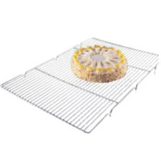 "Focus Foodservice 301WS 24-1/2"" x 16-1/2"" Chrome Icing Grate"
