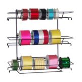 "Floralware RR3 3 Shelf 18"" x 6"" x 18"" Ribbon Rack"