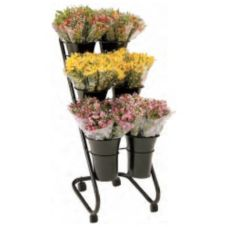 "FMS BD6H 28-1/2"" x 17"" x 43"" Bouquet Bucket Display"