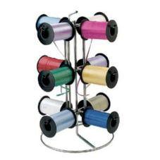 "FMS CRH-12 12-Spool Holder 16"" x 21"" Carousel Ribbon Rack"