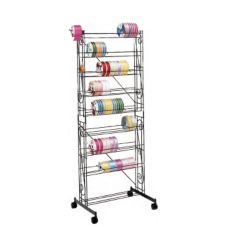 FMS Mobile Ribbon Rack, W/ Casters