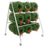 Floral Merchandising Systems BH-WC Basket Hanger With Wreath Kit