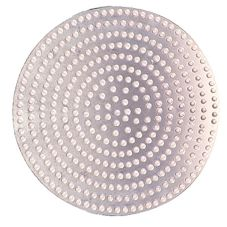 "Allied Metal Spinning PD16 16"" Perforated Aluminum Baking Disc"