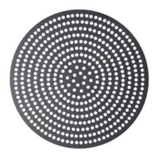 "American Metalcraft Super-Perforated 19"" Aluminum Pizza Disk"